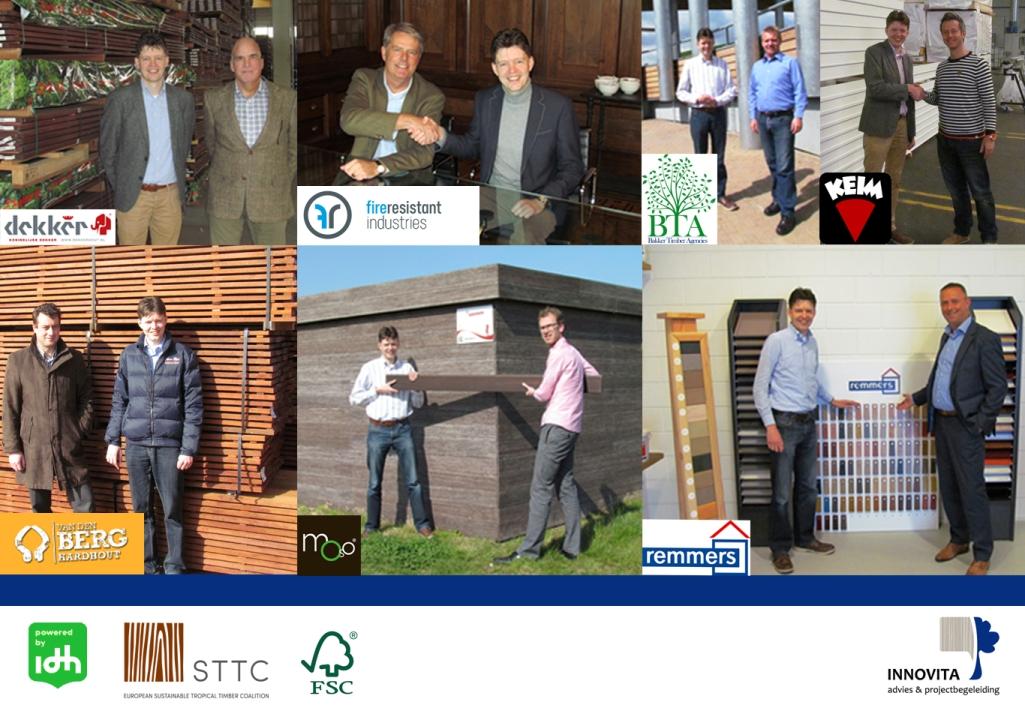 De partners van Natuurlijk Geveladvies per juni 2014 lr